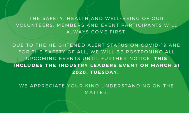EVENT POSTPONEMENT NOTICE